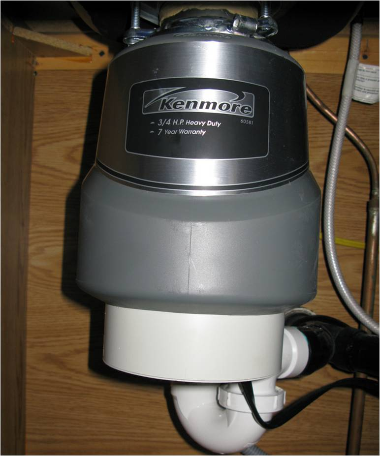 Thompson PHC Garbage disposal